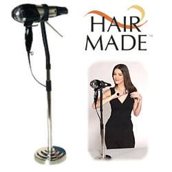Hair Made, $16.95, Say good-bye to days when you had to hold your hair dryer in one hand and style with other. With The Hair Made, you can use both hands to style your hair. Blow-drying with The Hair Made is absolutely hands-free.