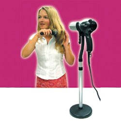 Lady Elegance Hair Dryer Stand, $10.95, Flexible stand makes hairstyling alot easier. Free both hands while styling and dry your hair with ease and comfort