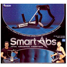 Smart Abs, $39.95,  Now its time to get smart with the Smart Abs System. It's designed to burn fat and flatten your abs in the easiest, smartest way possibl.