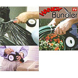 The Handy Bundler, Handy Bundler, wraps, ties and secures just about anything.
