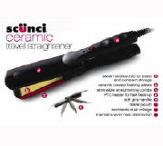 Scunci Ceramic Travel Straightener only $14.95 from Gift Find Online