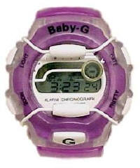 Baby-G 820 Solid Styled Watch